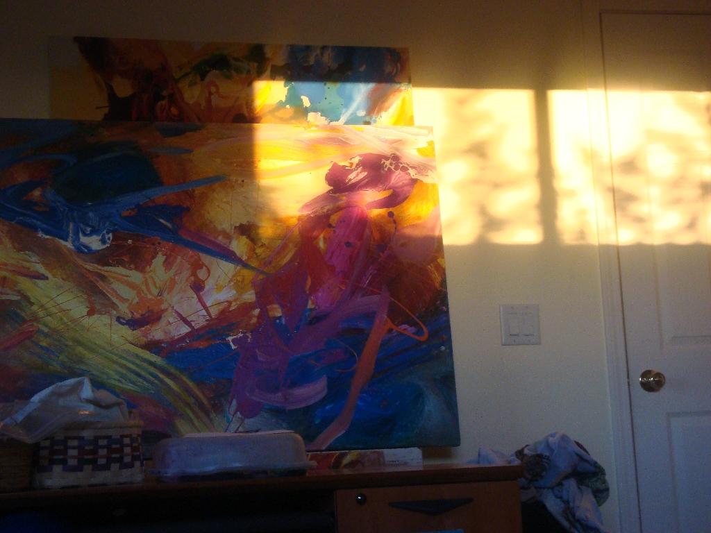 SunlightOnStudioWall