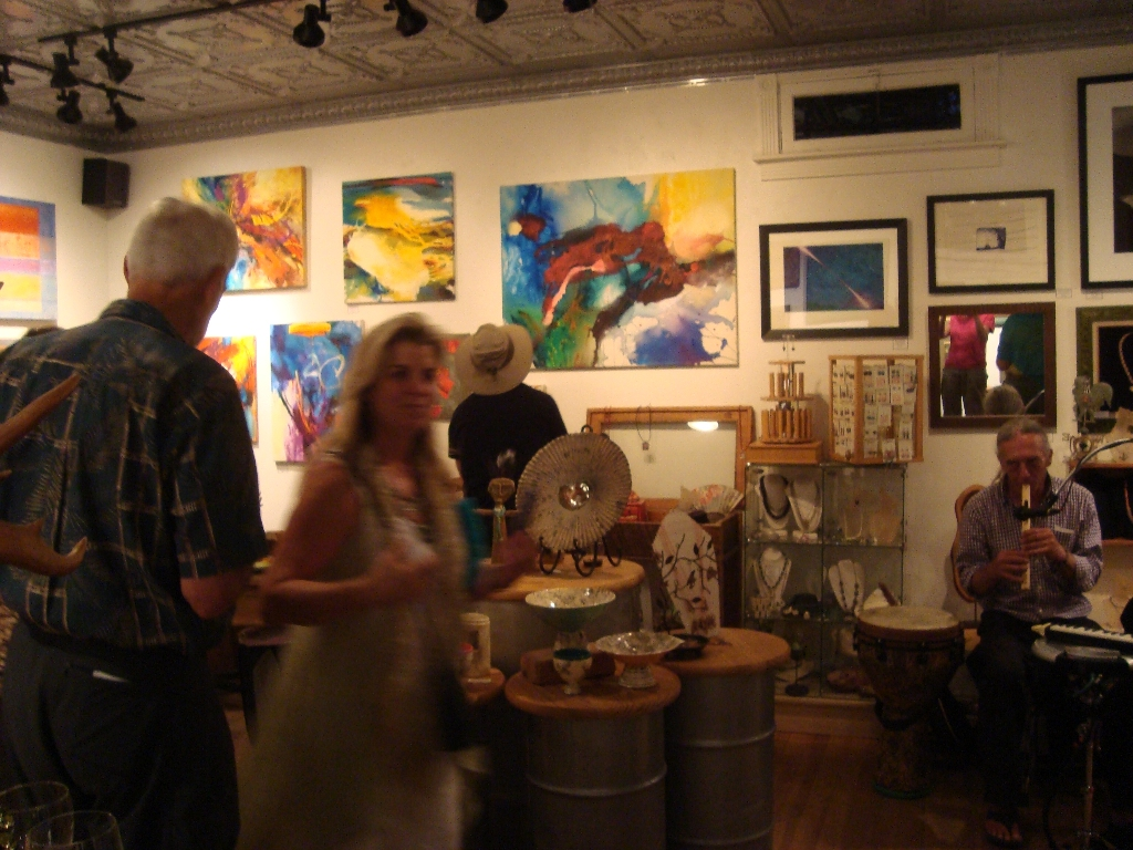 Gallery527JeromeArtwalkMusic
